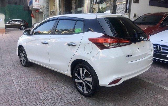 Cần bán lại xe Toyota Yaris đời 2019, màu trắng xe gia đình giá chỉ 620 triệu đồng2