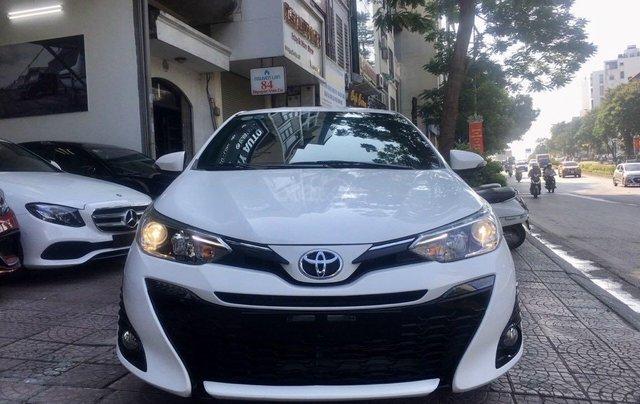 Cần bán lại xe Toyota Yaris đời 2019, màu trắng xe gia đình giá chỉ 620 triệu đồng1
