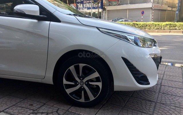 Cần bán lại xe Toyota Yaris đời 2019, màu trắng xe gia đình giá chỉ 620 triệu đồng3