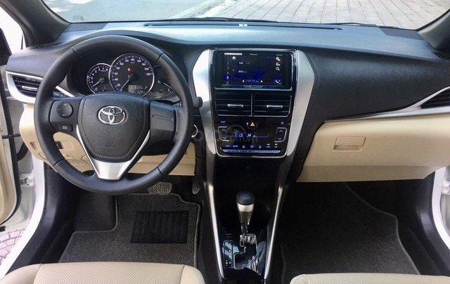 Cần bán lại xe Toyota Yaris đời 2019, màu trắng xe gia đình giá chỉ 620 triệu đồng6