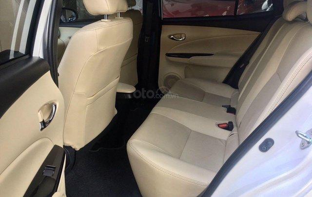 Cần bán lại xe Toyota Yaris đời 2019, màu trắng xe gia đình giá chỉ 620 triệu đồng10