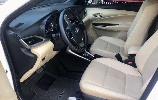 Cần bán lại xe Toyota Yaris đời 2019, màu trắng xe gia đình giá chỉ 620 triệu đồng9