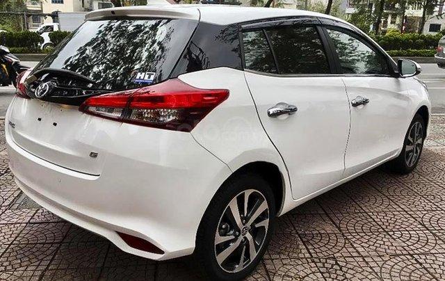 Bán Toyota Yaris 1.5G năm sản xuất 2019, màu trắng, nhập khẩu1