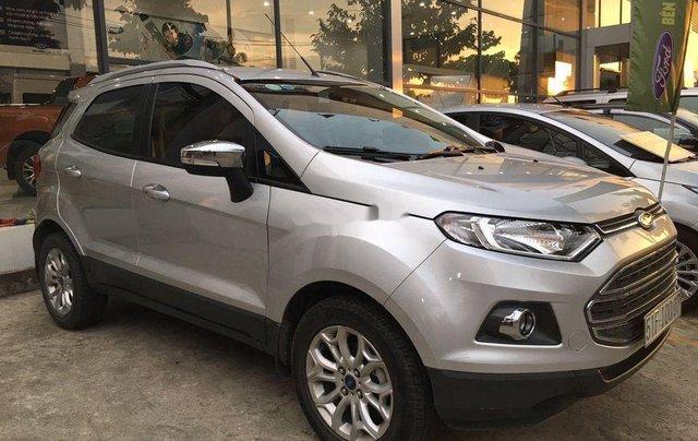 Bán Ford EcoSport sản xuất năm 2017, màu bạc chính chủ, 430tr0