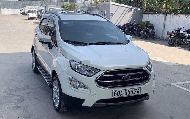 Bán Ford EcoSport sản xuất 2018, màu trắng, 589tr0