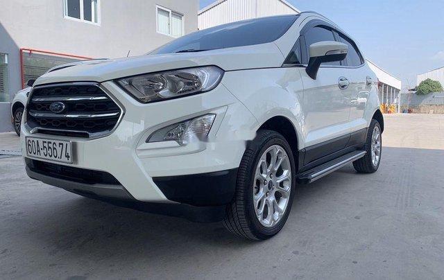 Bán Ford EcoSport sản xuất 2018, màu trắng, 589tr1