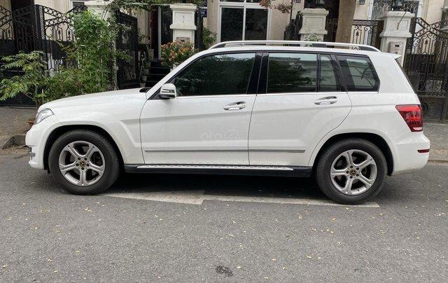 Cần bán xe Mercedes GLK 220 CDI đời 2013, màu trắng xe gia đình sử dụng7