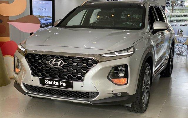 [HCM] Hyundai Santafe 2020 giảm tiền mặt 100tr + tặng bảo hiểm thân vỏ và 11 món phụ kiện1