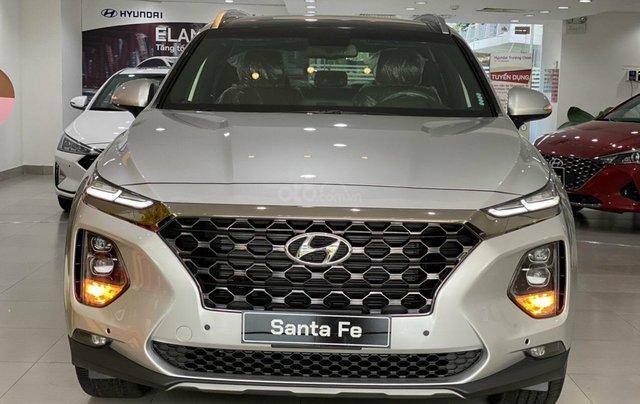 [HCM] Hyundai Santafe 2020 giảm tiền mặt 100tr + tặng bảo hiểm thân vỏ và 11 món phụ kiện0