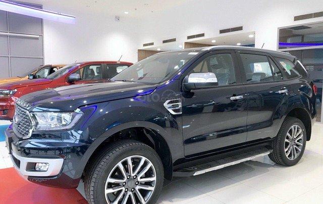 Ford Everest new 2021, KM khủng - hỗ trợ bank đến 80%, giảm từ 60-90tr tặng kèm phụ kiện, sẵn xe giao ngay0