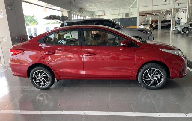 Bán Toyota Vios 1.5E CVT năm sản xuất 2021, màu đỏ giao ngay1