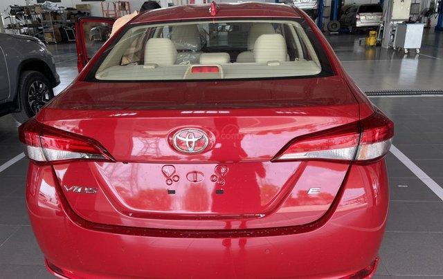 Bán Toyota Vios 1.5E CVT năm sản xuất 2021, màu đỏ giao ngay2