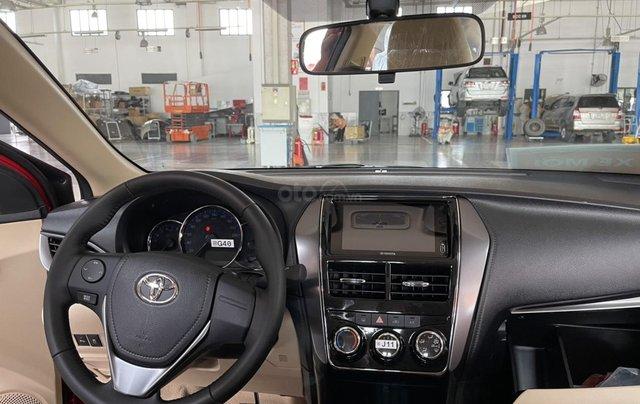 Bán Toyota Vios 1.5E CVT năm sản xuất 2021, màu đỏ giao ngay4