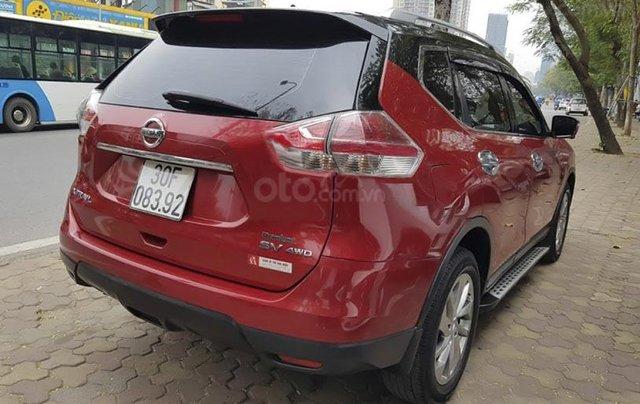 Cần bán lại xe Nissan X trail sản xuất 2017, màu đỏ còn mới, giá tốt2