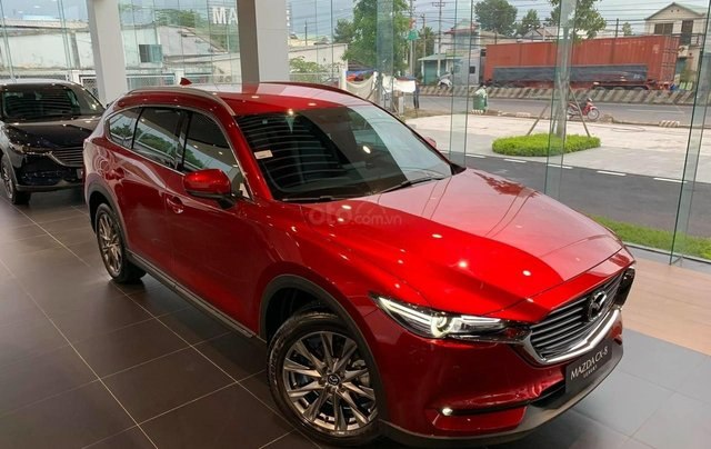 [ Mazda Gò Vấp- HCM ] New Mazda CX8 - Trả trước chỉ 270tr - Tặng gói nâng cấp trị giá 50tr - Hỗ trợ trả góp đến 80%0