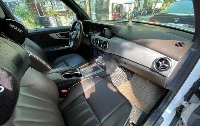 Cần bán xe Mercedes GLK 220 CDI đời 2013, màu trắng xe gia đình sử dụng9