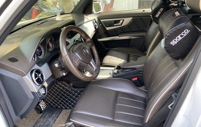 Cần bán xe Mercedes GLK 220 CDI đời 2013, màu trắng xe gia đình sử dụng10
