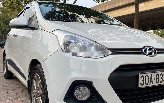 Bán Hyundai Grand i10 đời 2015, màu trắng, xe nhập số tự động, 345 triệu0