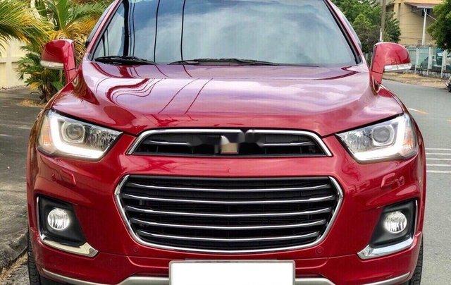 Bán xe Chevrolet Captiva sản xuất 2017, giá mềm1