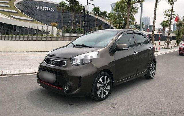 Bán xe Kia Morning sản xuất 2017, giá tốt, xe chính chủ3