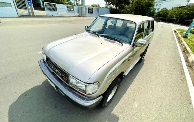 Bán Toyota Land Cruiser năm sản xuất 1993, màu bạc, nhập khẩu nguyên chiếc số sàn giá cạnh tranh3