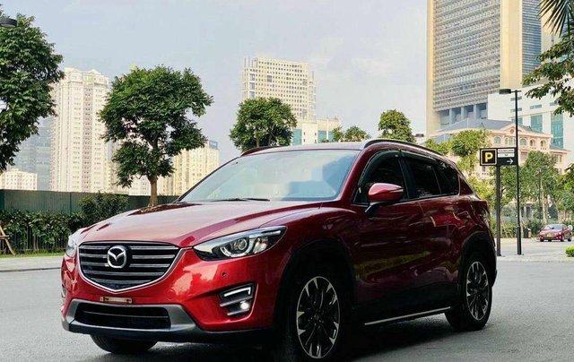 Bán ô tô Mazda CX 5 năm sản xuất 2016, màu đỏ 2