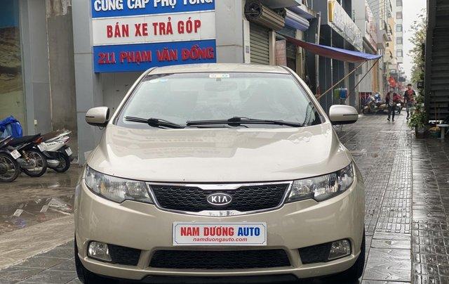 Bán xe Kia Forte đăng ký lần đầu 2011, màu kem (be), xe nhập, giá chỉ 315 triệu đồng0