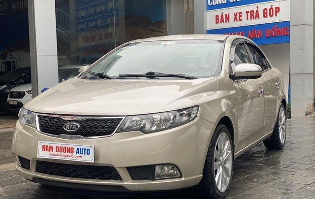 Bán xe Kia Forte đăng ký lần đầu 2011, màu kem (be), xe nhập, giá chỉ 315 triệu đồng3