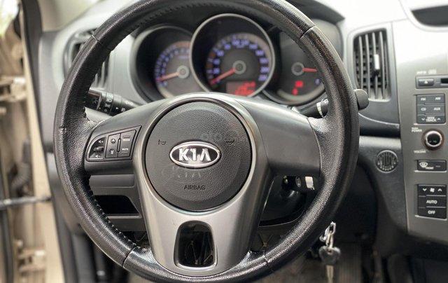 Bán xe Kia Forte đăng ký lần đầu 2011, màu kem (be), xe nhập, giá chỉ 315 triệu đồng13