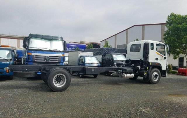 Bán xe tải Chassi Auman C160 9.1 tấn đời 20217