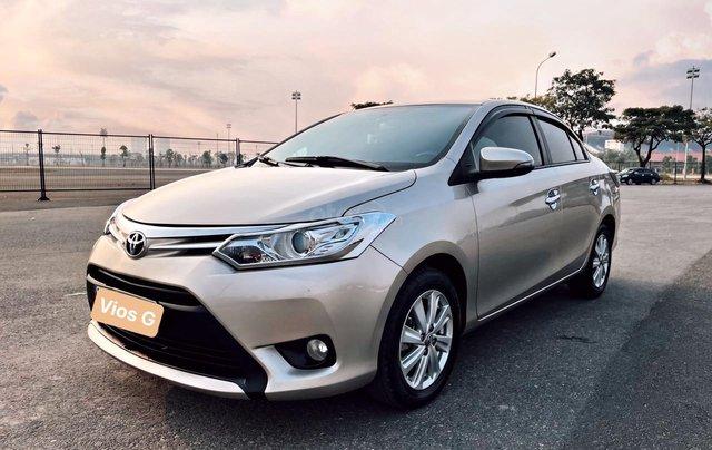Bán ô tô Toyota Vios 1.5G năm sản xuất 20170