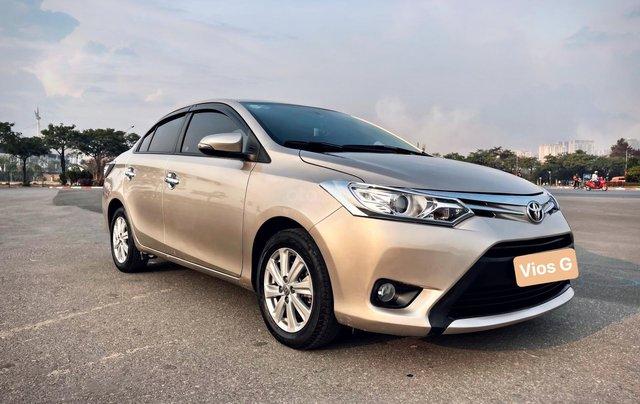 Bán ô tô Toyota Vios 1.5G năm sản xuất 20172