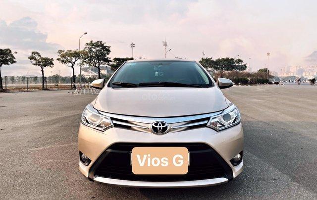 Bán ô tô Toyota Vios 1.5G năm sản xuất 20171