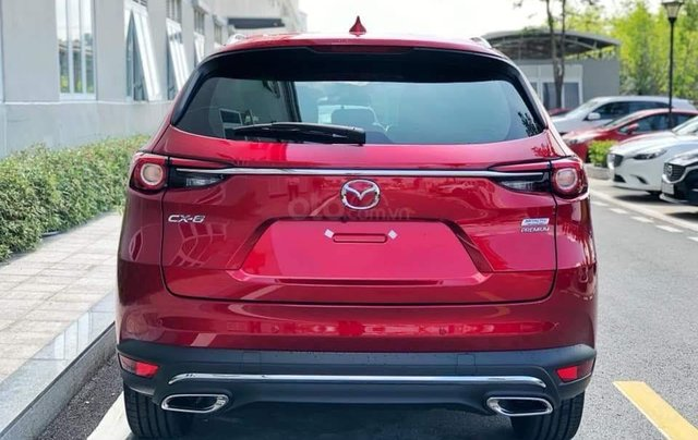 [Hot] Mazda CX-8 đỏ pha lê 20212