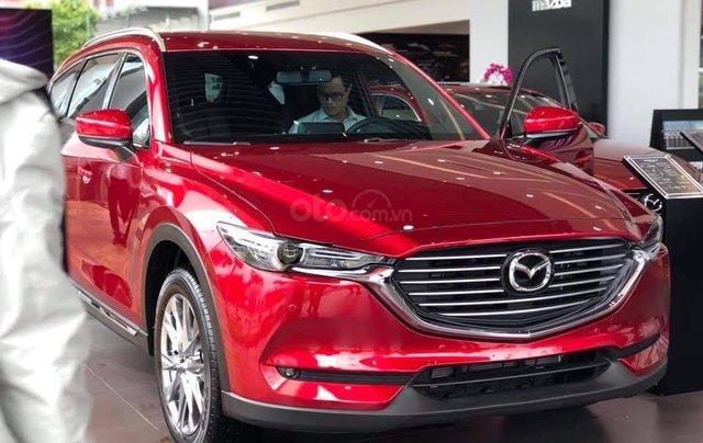 [Hot] Mazda CX-8 đỏ pha lê 20210