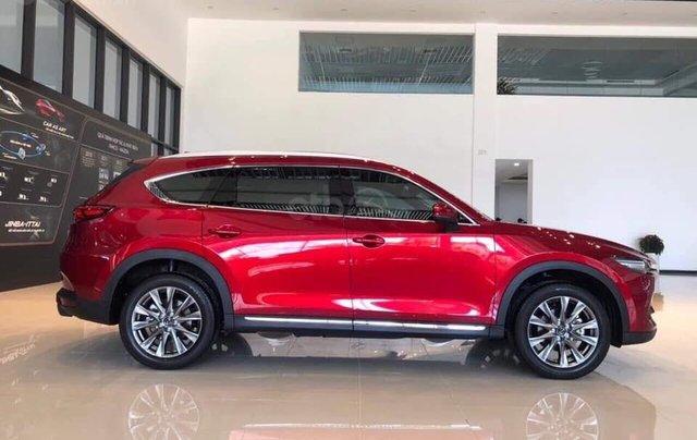 [Hot] Mazda CX-8 đỏ pha lê 20213