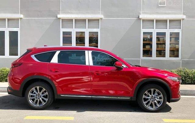 [Hot] Mazda CX-8 đỏ pha lê 20211