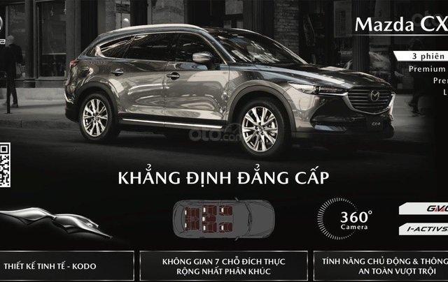 [Hot] Mazda CX-8 đỏ pha lê 202112