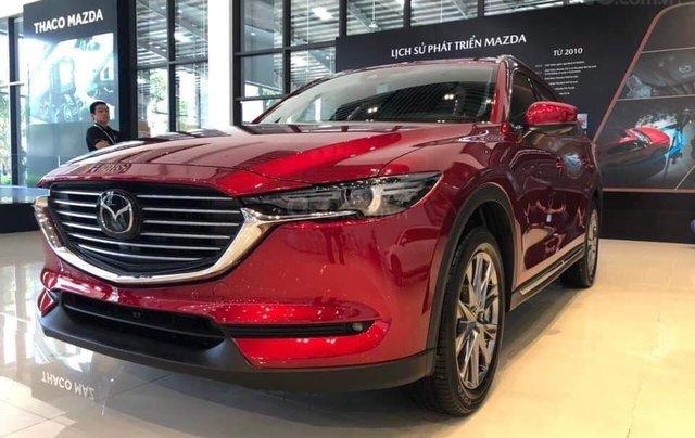 [Hot] Mazda CX-8 đỏ pha lê 20217