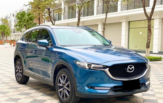 Cần bán lại xe Mazda CX 5 đời 2018, màu xanh lam3
