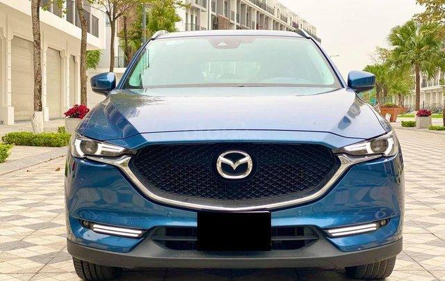 Cần bán lại xe Mazda CX 5 đời 2018, màu xanh lam4