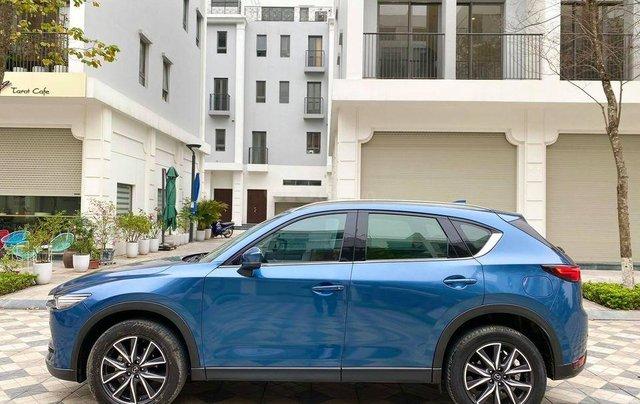 Cần bán lại xe Mazda CX 5 đời 2018, màu xanh lam0