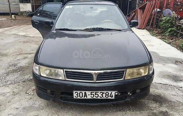 Cần bán gấp Mitsubishi Lancer đời 2001, màu đen 4