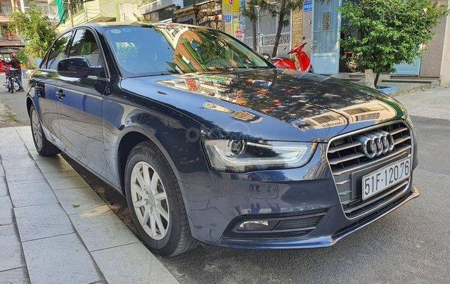 Bán xe Audi A4 sản xuất 2015, màu xanh lam như mới2