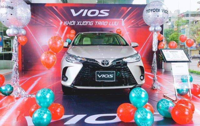 [Giá tốt nhất miền Bắc] Toyota Vios 2021, sẵn xe đủ màu giao ngay, liên hệ để nhận ưu đãi, quà khủng tháng 30