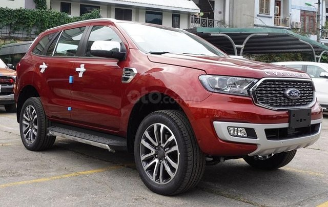 Ford Everest Titanium 2021, ưu đãi ngập tràn, nhận xe ngay1