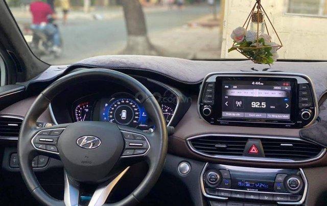 Bán Hyundai Santa Fe đời 2019, màu trắng giá cạnh tranh1