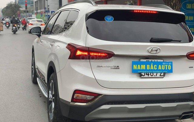 Bán Hyundai Santa Fe đời 2019, màu trắng giá cạnh tranh2