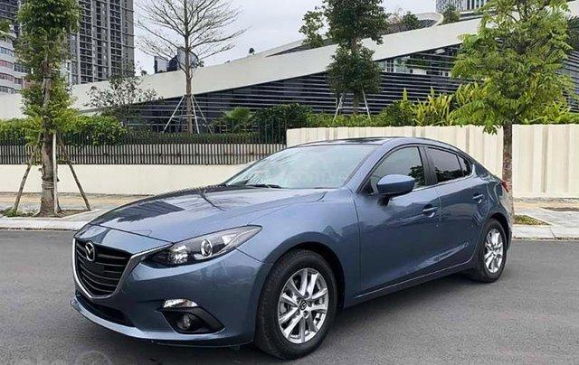 Bán ô tô Mazda 3 1.5 AT 2017, màu xanh lam còn mới 0