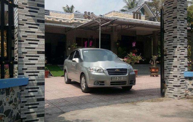 Bán Daewoo Gentra đời 2009, màu bạc, xe nhập1